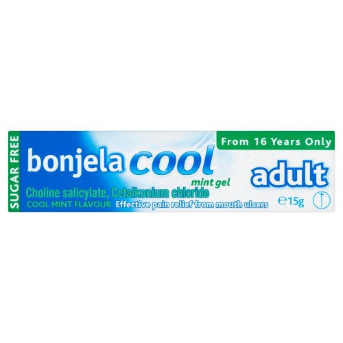 Bonjela Cool Adult Mint Gel 15g