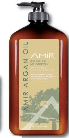 Amir Argan Oil Body Moisturizer Lotion 18 fl.oz