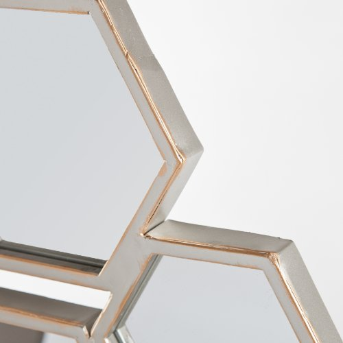Southern Enterprises Honeycomb Wall Mirror