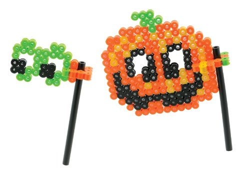 Perler Beads Pumpkin Mask Biggie Bead Fused Bead Kit - 1