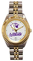 Northwesterm University Wildcats Ladies Executive Stainless Steel Sports Watch