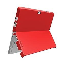 Incipio Microsoft Surface 3 Case, feather [Advance] [Thin Case] for Microsoft Surface 3-Red