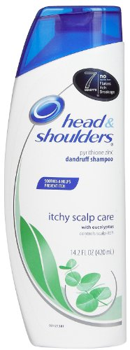 Head & Shoulders Itchy Scalp Care with Eucalyptus Dandruff Shampoo 13.5 Fl Oz (Pack of 2)