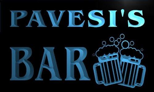 w122297-b-pavesis-name-home-bar-pub-beer-mugs-cheers-neon-light-sign