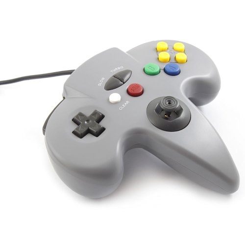 New Gray Controller Game System for Nintendo 64 N64 хай хэт и контроллер для электронной ударной установки roland fd 9 hi hat controller pedal