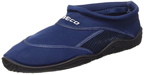 BECO - Scarpe da bagno/surf unisex adulto, Blu mare (marine), 46