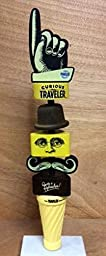 Curious Traveler Tap Handle - The Traveler Beer Company - New