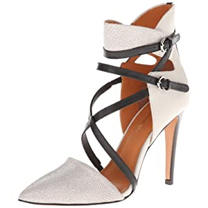 Rebecca Minkoff Women's Raz Dress Pump,Pale Grey Stingray Print,9 US/9 M US