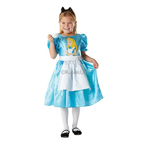 Rubies Alice In Wonderland Book Day Week Fancy Dress Girls Childs Party Costume