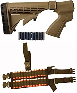 Ultimate Arms Gear Tactical Mossberg 500 590 835 12 Gauge Shotgun Dark Earth Tan... by Ultimate Arms Gear