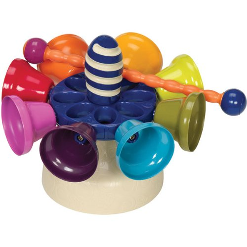 Battat B. Colossale Carousel Bells Toy - 1