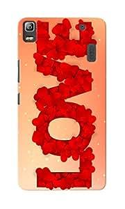 KnapCase Love Petals Designer 3D Printed Case Cover For Lenovo K3 Note