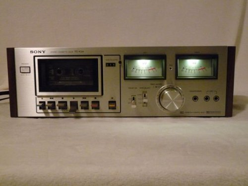 Sony Tc-K6 Single Cassette Deck Player Recorder