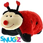 "New Snuggz 19"" Pillow Friend: Ladybird"