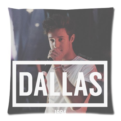 Cameron Dallas 18X18 Two Sides Custom Cotton & Polyester Pillow Case Cover Cushion Cover Model: CHH-0311 (Build-to-Order)
