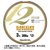 ダイワ(Daiwa) ライン メガセンサー 12ブレイド  200m  6.0号