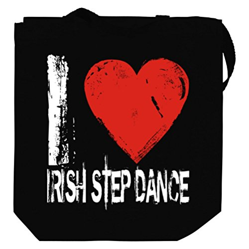 I LOVE Irish Step Dance Canvas Tote Bag