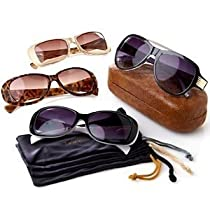 Joy Mangano Summer Style 9 Piece Bifocal Sunglasses Set 3.5