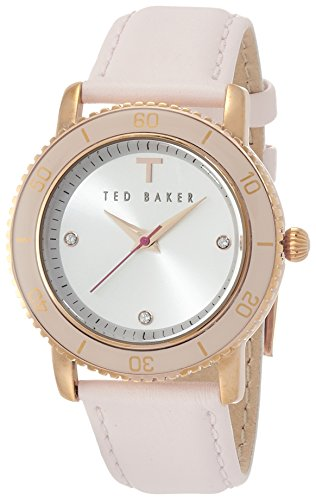 Ted Baker Three-Hand Leather - Pink Women's watch #TE2109