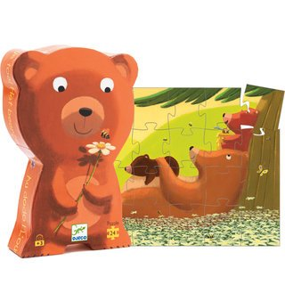 Cheap Fun Djeco Puzzle Go To Sleep Boxed Silhouette (B003I6XVSQ)