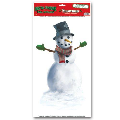 Snowman Peel 'N Place - 1