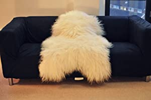 Biggest | Soft and Silky | Icelandic Sheepskin Rug |
