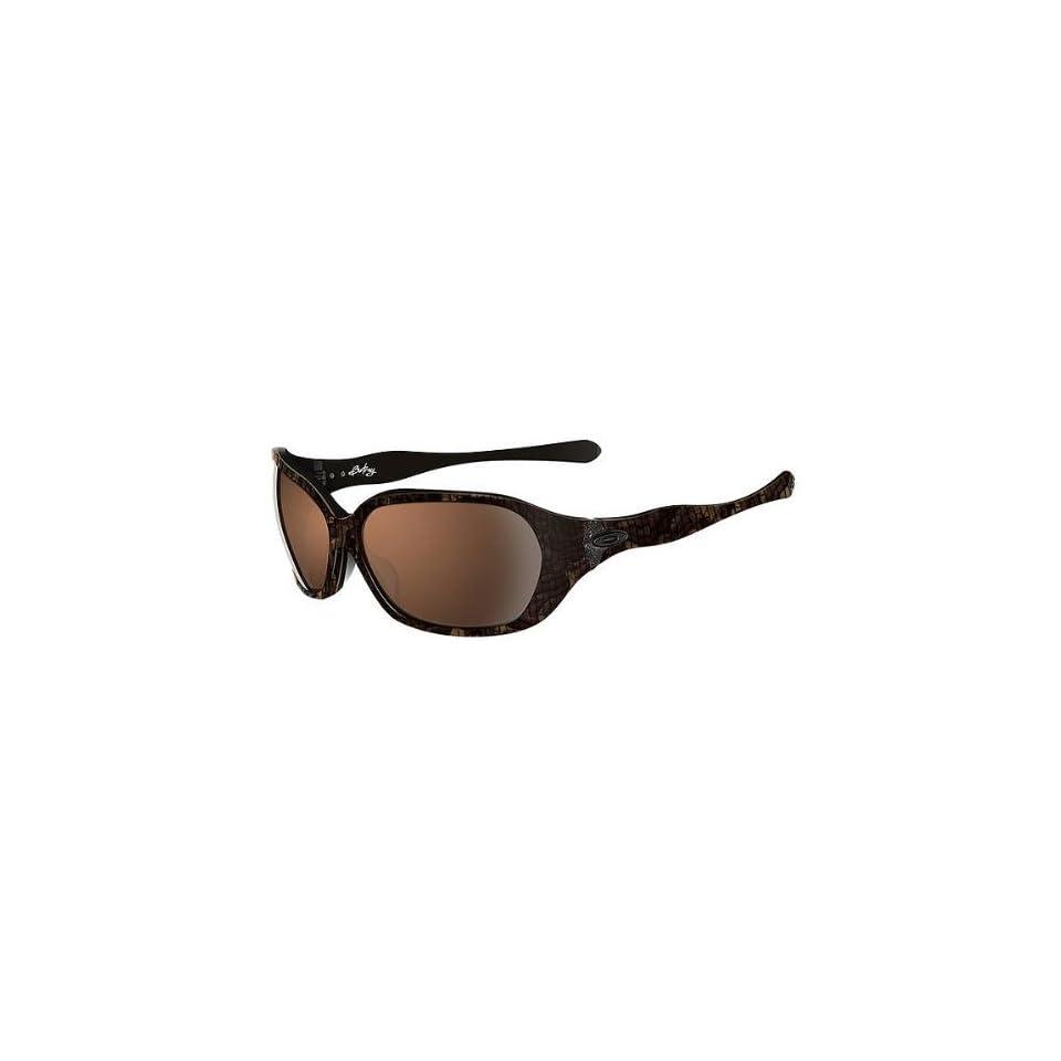 d1d7259eba Oakley Betray Womens Asian Fit Active Sportswear Sunglasses Sable VR28  Black Iridium   One Size Fits All