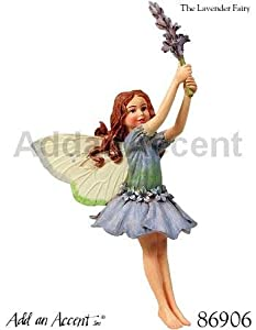 Cicely Mary Barker ~ Flower Fairy ~ LAVENDER Fairy Ornament - Collectible