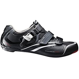 Shimano 2014 Men's Club Recreation Road Cycling Shoes - SH-R088L (Black - 45)