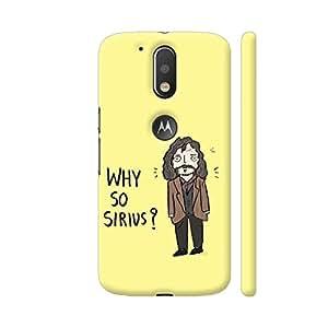 Colorpur Siriusly Kidding Artwork On Motorola Moto G4 / Moto G4 Plus Cover Cover (Designer Mobile Back Case)   Artist: Manasi Deshpande