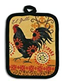 Kay Dee Designs Kitchen Potholder, Spanish Rooster, R1992