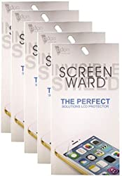 SCREEN WARD Clear Screen Guard Pack Of 5 For SONY Xperia Z3
