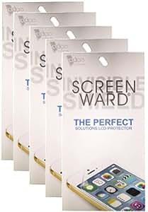 SCREEN WARD Clear Screen Guard Pack Of 5 For Sony Ericsson Wt19i Mix walkman