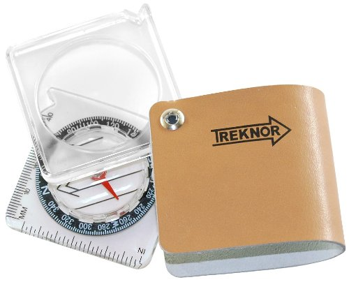 Treknor Locator Magnifying Pocket Compass