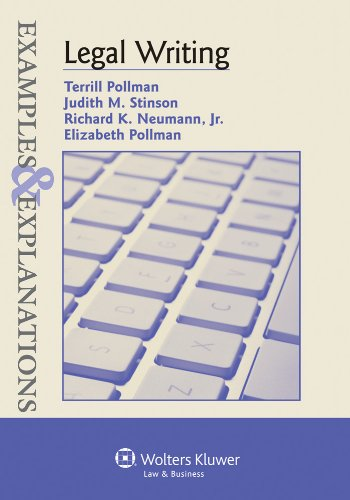 Legal Writing: Examples & Explanations (The Examples & Explanations Series)