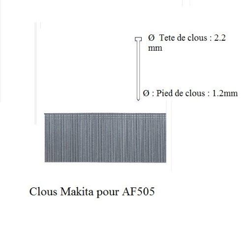 Makita-50-mm-Ngel-fr-Druckluft-Nagler-AF505-5000-Stck-Stauchkopfngel-F-31957