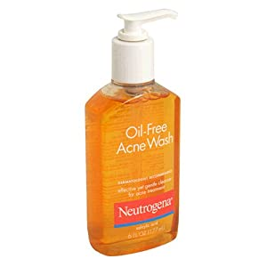 Neutrogena Oil-Free Acne Wash, 6 Ounce (Pack of 3)