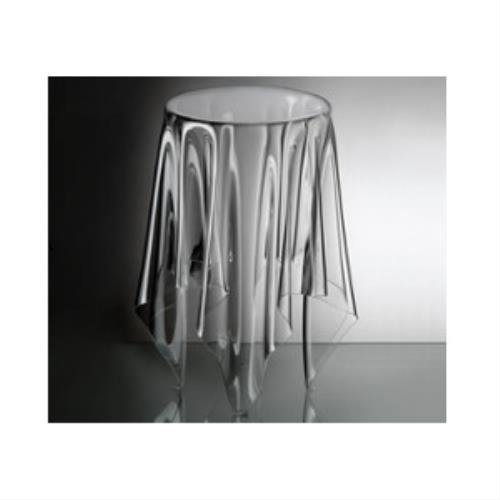 Essey - Tavolino alto Illusion, trasparente