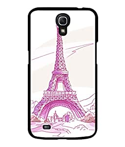 printtech Paris Tower Sketch Cartoon Back Case Cover for Samsung Galaxy Mega 6.3 i9200::Samsung Galaxy Mega 6.3 i91200