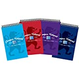 Oxford Campus Reporters Notebook  (Pack of 10 Assorted Colours)