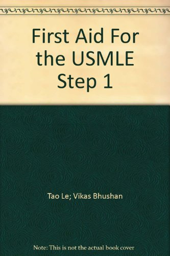 First Aid For the USMLE Step 1 (First Aid Usmle Step 1 2012 compare prices)
