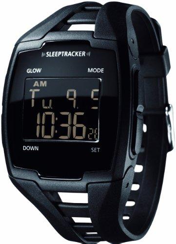[スリープトラッカー]Sleeptracker 腕時計 睡眠計測目覚まし時計 Sleeptracker PRO Black ユニセックス 【正規輸入品】