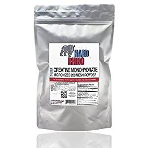Pure Creatine Monohydrate Micronized 200 Mesh Bulk Powder.