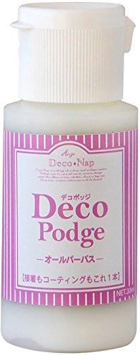 デコパージュ液 デコポッジ オールパーパス 30ml AG-4440