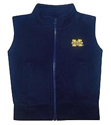 Creative Knitwear Baby University of Michigan Fleece Zippered Vest 18 Months