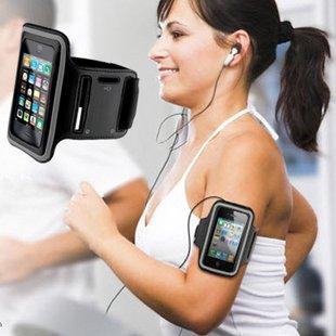 iPhone5 アイフォン アームバンド ケース カバー ランニング