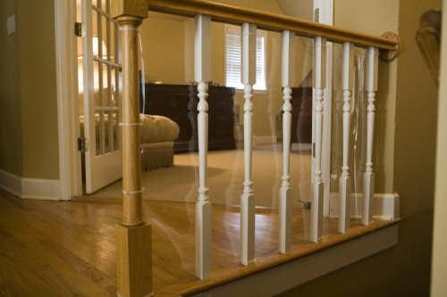 Cardinal Gates Banister Shield 5' Roll Clear - 1