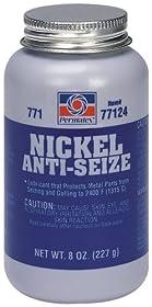Permatex 77124-12PK Nickel Anti-Seize Lubricant, 8 oz. (Pack of 12)