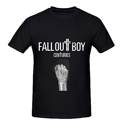 Fall Out Boy Centuries Rock Men O Neck Printed T Shirt Black (Nissan Lifting Kit compare prices)