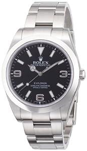 ROLEX エクスプローラー1 ブラック文字盤 アラビアインデックス